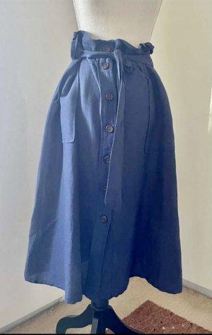 Leinenrock mit Gürtel von Mango. Gr. M. Neuwertig.