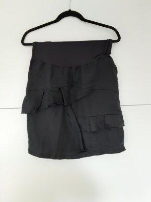 Yaya Linen Skirt dark blue