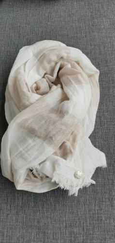 Opus Summer Scarf natural white-beige