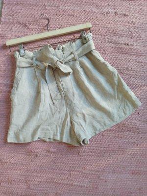 H&M Divided Pantalon en lin multicolore