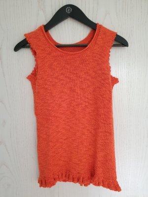Hauts épaule nues orange