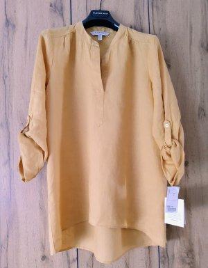 Caftan gold orange linen