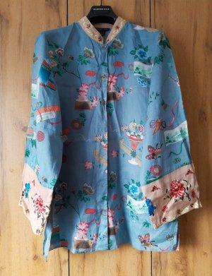 Leinentunika Neu Lang Minikleid Kimono