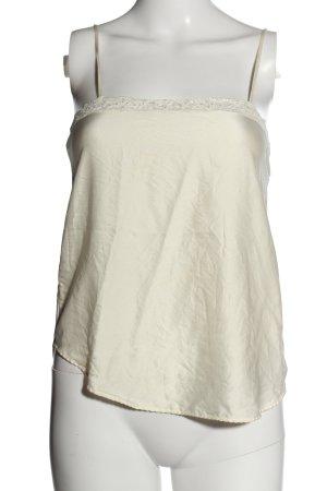 Lejaby Top spalle scoperte bianco sporco stile casual