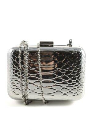Leko London Mini Bag silver-colored animal pattern extravagant style
