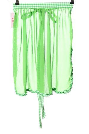 Lekra Tradycyjny fartuch  zielony W stylu casual