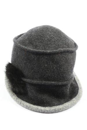 Lembert Felt Hat light grey flecked casual look