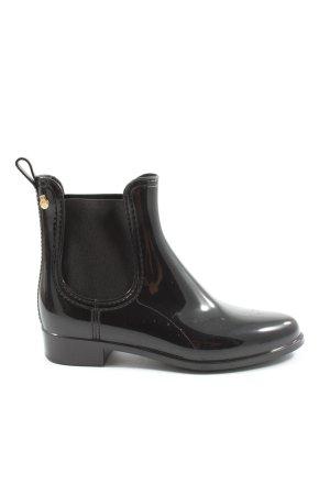 Lemon Jelly Chelsea laarzen zwart simpele stijl