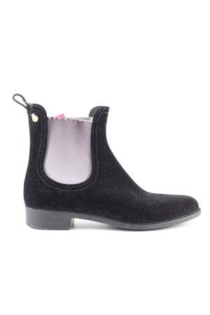 Lemon Jelly Chelsea Boots schwarz-hellgrau Business-Look