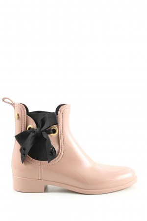 Lemon Jelly Gummistiefel nude-schwarz Casual-Look