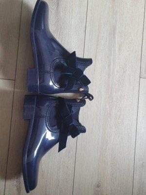 Lemon Jelly Gumowe buty niebieski-ciemnoniebieski