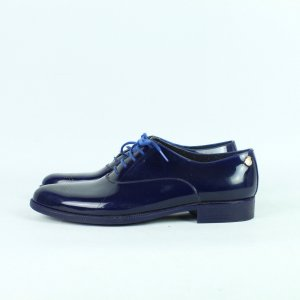 Lemon Jelly Oxfords dark blue synthetic material