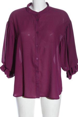 LeMonada Hemd-Bluse lila Elegant