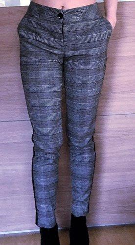 LeMonada Pantalón de lana negro-gris
