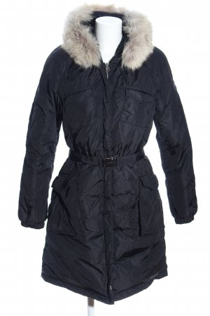 Lempelius Hooded Coat black casual look
