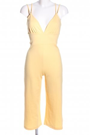 LENA GERCKE X ABOUT YOU Jumpsuit blassgelb Casual-Look