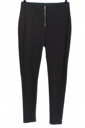 LENA GERCKE X ABOUT YOU Stretchhose schwarz Casual-Look