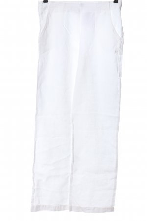 Lena Karn Linnen broek wit casual uitstraling