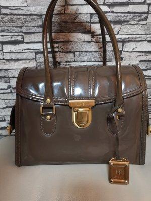 Lenny e Cia Lack Tasche Handtasche Bag braun