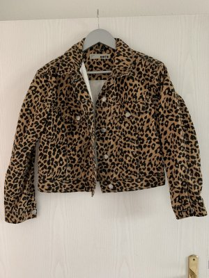 Topshop Denim Jacket multicolored cotton