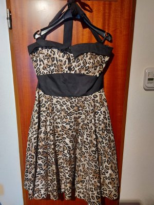 Petticoat Dress black-light brown