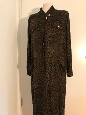 Leo-Maxi Kleid Vintage (Pierre Castelle)