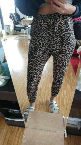 FB Sister Pantalón estilo Harem negro-crema