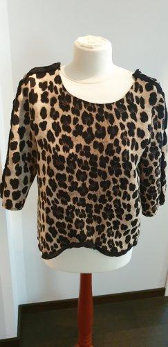 Zara Slip-over Blouse black-brown