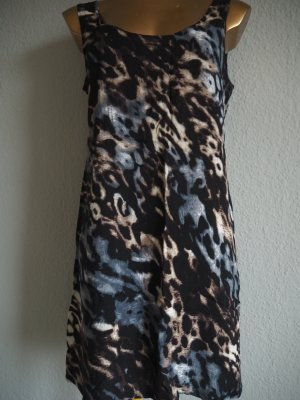 Leo-Print-Kleid Gr. 36 Trendy Look