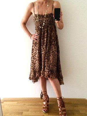 Miss Sixty Robe d'été marron clair-brun