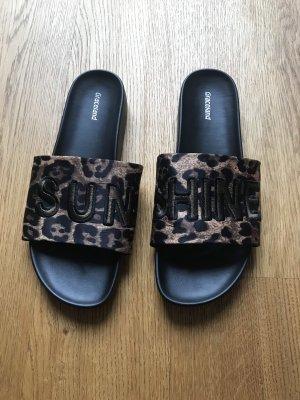 Graceland Comfort Sandals black-brown