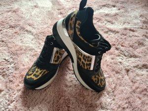 Ella Cruz Sneaker con zeppa nero