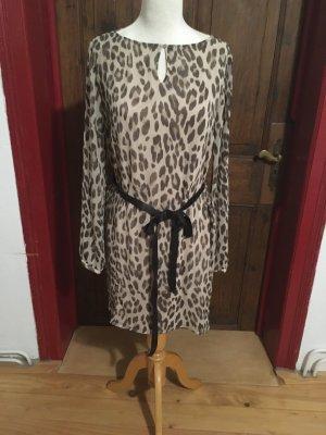 Rich & Royal Szyfonowa sukienka Wielokolorowy