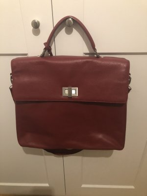 Leonhard Heyden Briefcase multicolored leather