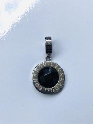 Leonardo Colgante color plata-negro