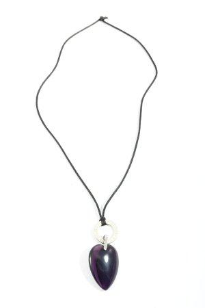 Leonardo Halskette schwarz-silberfarben Casual-Look