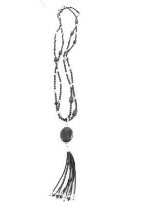 Leonardo Halskette schwarz-silberfarben Elegant