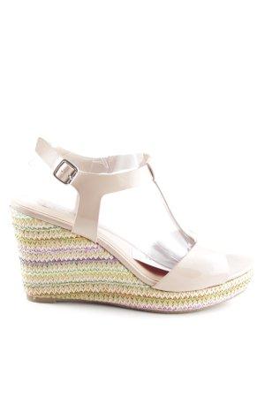 Leone Plateauzool sandalen veelkleurig casual uitstraling