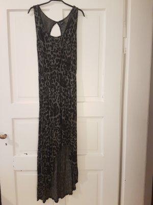 Leopaden Kleid mit Querschnitt