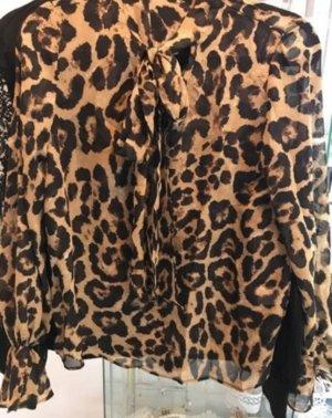 leopard blouse elegant