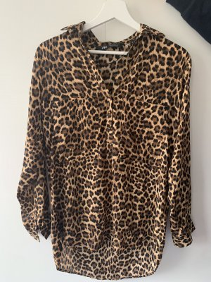 Leopard Bluse ZARA