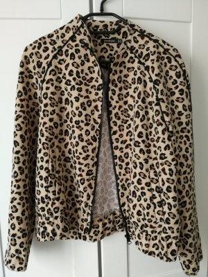 leopard Bomberjacke