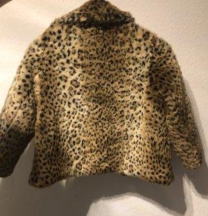 Leopard Felljacke