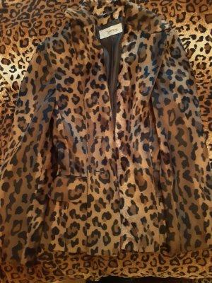 feel good Oversized Jacket black-brown
