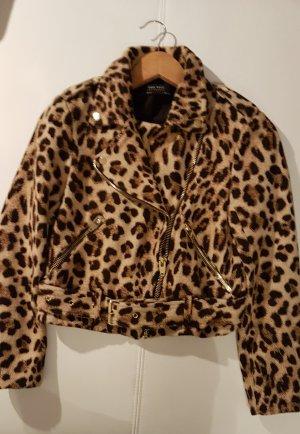Leopard Jacke von Zara.