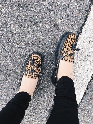Leopard Schlüpfschuhe Segelschuhe