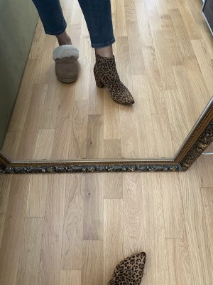 Leopard Stiefelette Boots