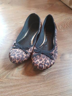Leoparden Ballerinas