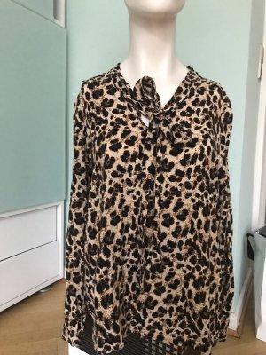 Leoparden Bluse mit Schnuppe