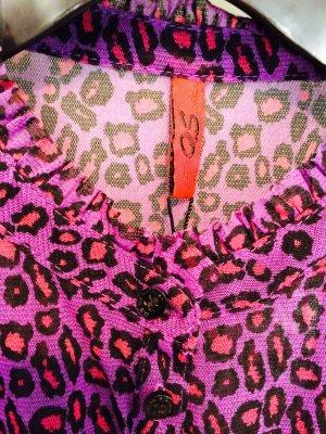 Leoparden Bluse von S. Oliver in M 36